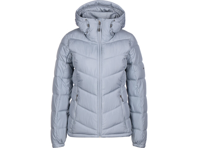 Columbia Pike Lake Hooded Jacket Damen tradewinds grey
